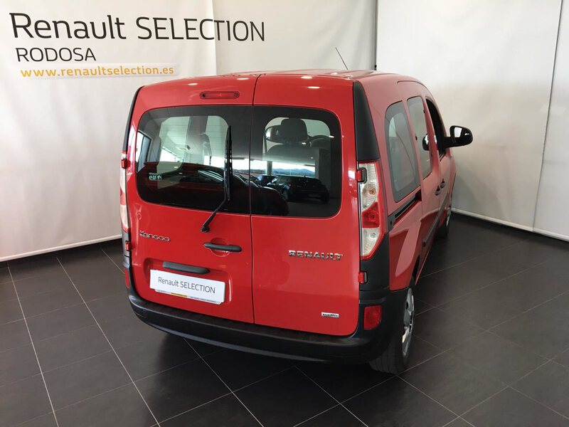 Outside Kangoo Combi Diesel  Rojo Vivo