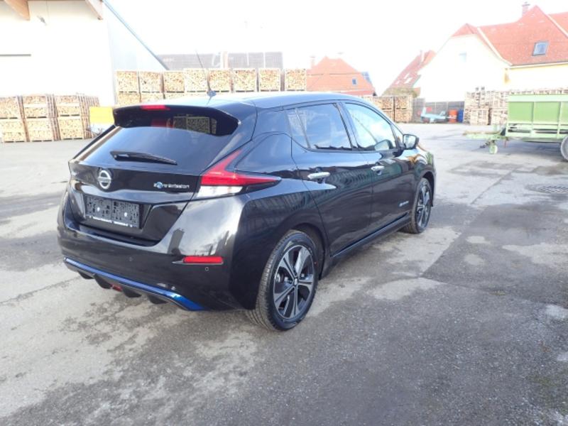 Außenausstattung LEAF XDKG BLACK M/GRAY M schwarz