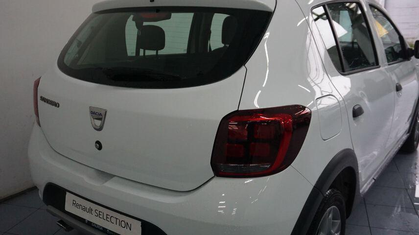 Outside Sandero Diesel  Blanco