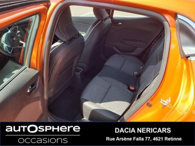 Exterieur Clio  oranje