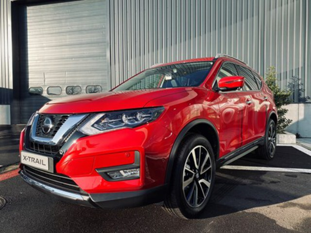 X-Trail  rouge
