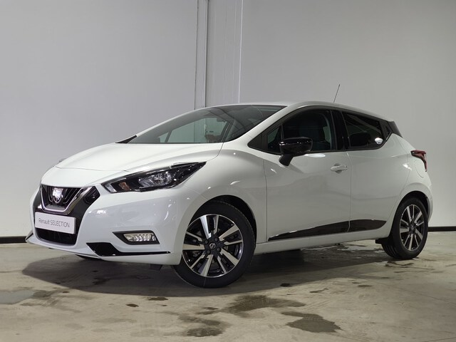 Outside Micra  Solid White