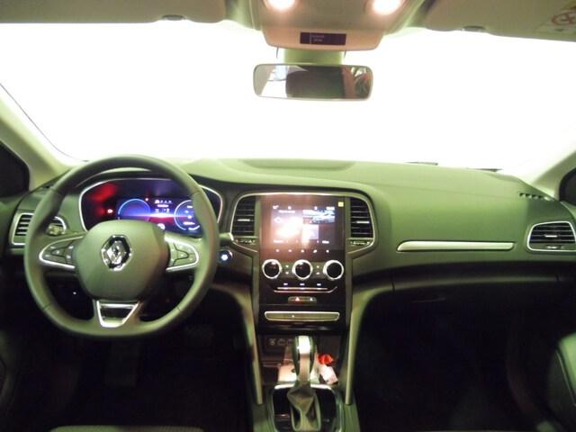 Inside Mégane Sport Tourer Híbrido Enchufable  Gris báltico