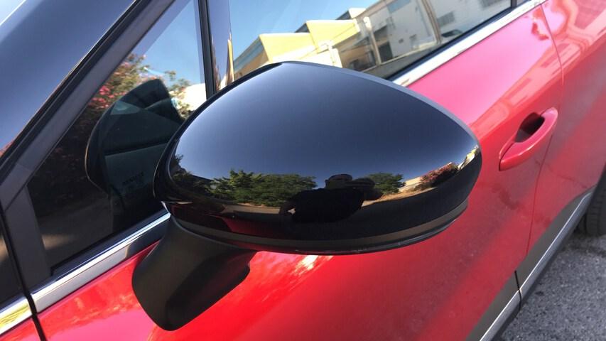 Outside Captur Híbrido Enchufable  Rojo Deseo con techo