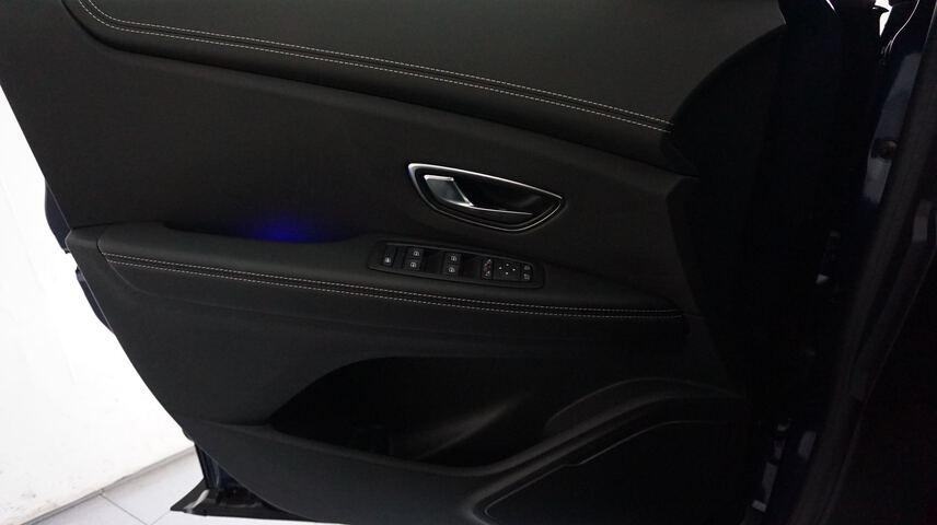 Inside Grand Scénic Diesel  Azul cosmos   techo