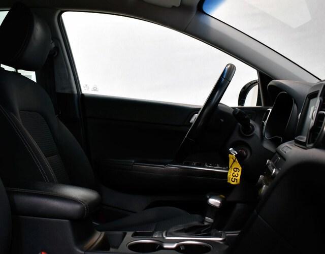 Inside Sportage Diesel  NEGRO