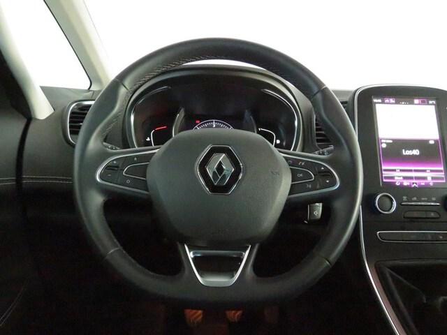 Inside Grand Scénic Diesel  Gris platino   techo