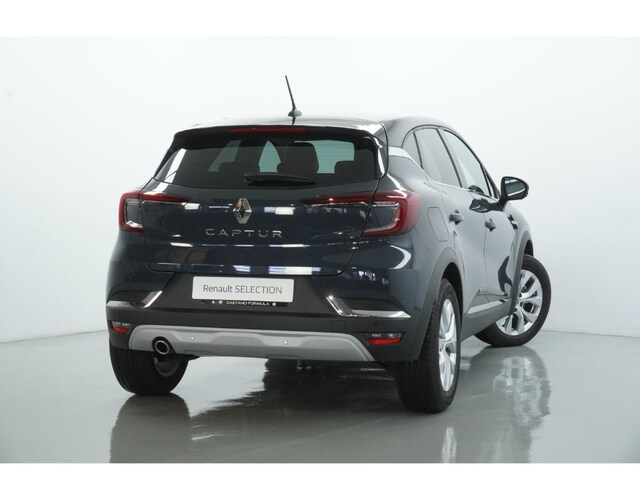 Outside Captur Diesel  Azul Volga con techo