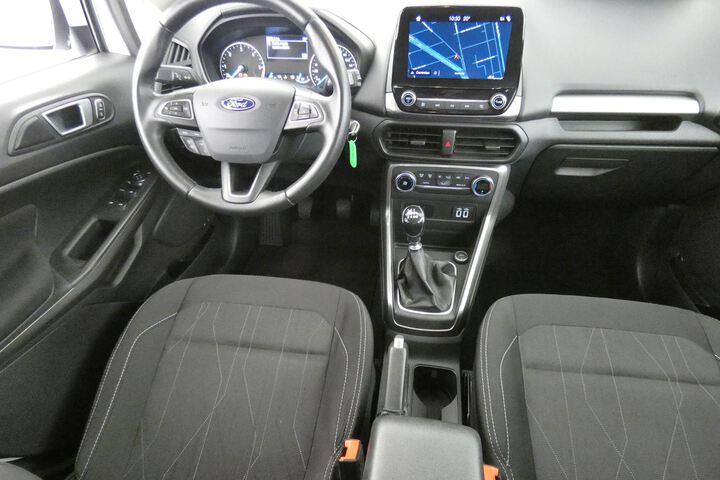 Inside EcoSport Diesel  Blanco