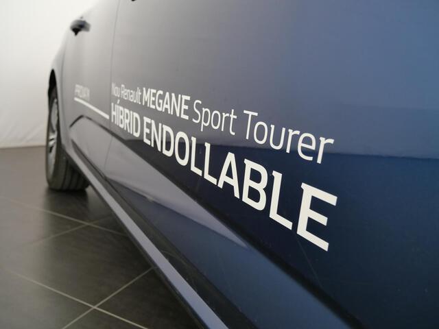 Outside Mégane Sport Tourer Híbrido Enchufable  Azul Cosmos