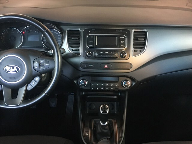 Inside Carens Diesel  Clear White