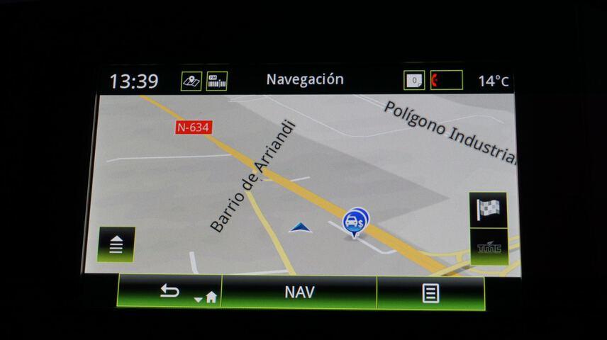 Inside Mégane Diesel  Blanco Glaciar