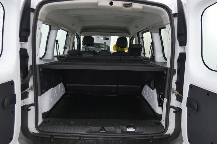 Inside Kangoo Combi Diesel  Blanco Mineral