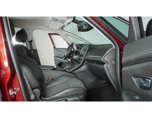 Inside Grand Scénic Diesel  Rojo Carmin techo ne