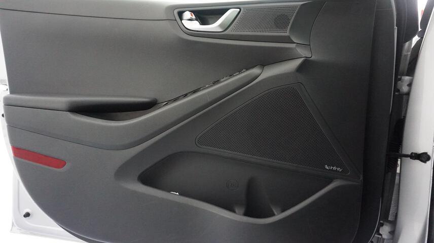 Inside Ioniq EV  Iron Gray