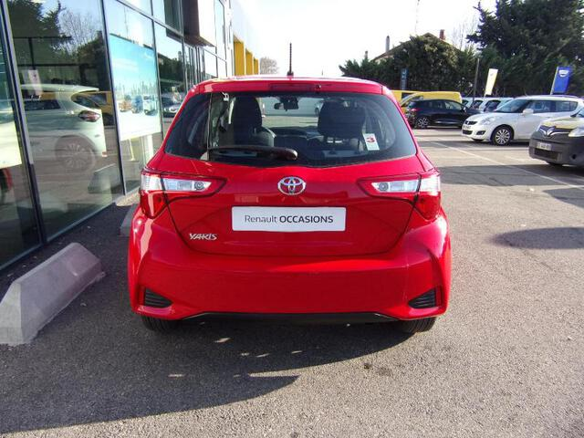 YARIS France ROUGE FONCE