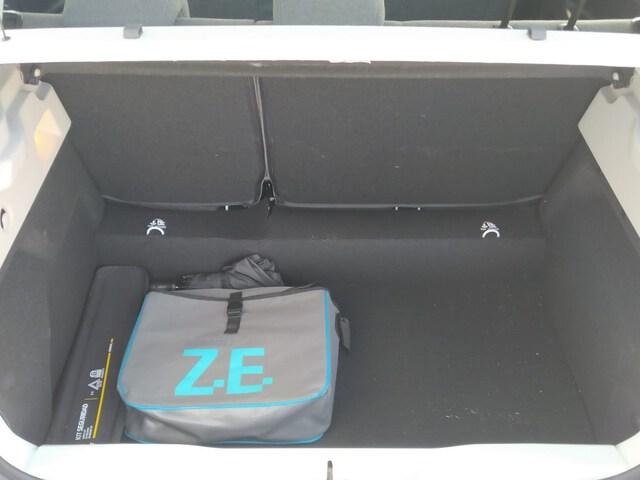 Inside Zoe E-Tech eléctrico  Blanco Glaciar