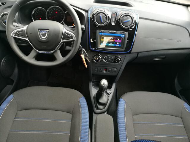 Inside Sandero Diesel  Azul Rayo
