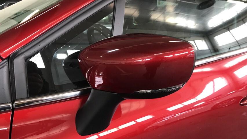 Outside Clio Diesel  Rojo Intenso