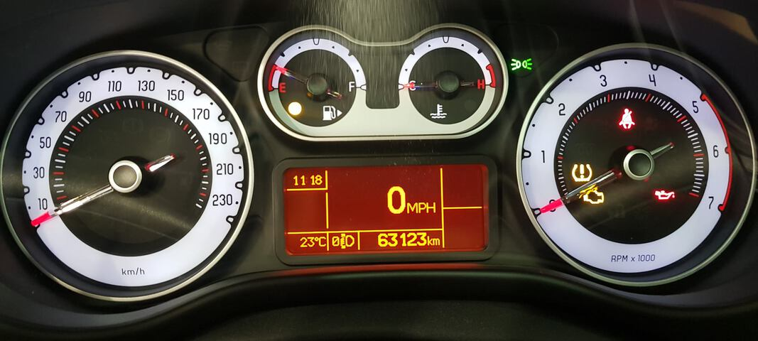 Outside 500L Diesel  Azul Venezia