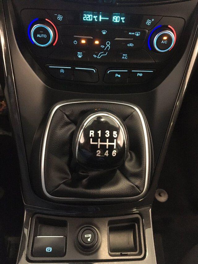 Inside Kuga Diesel  Azul impact