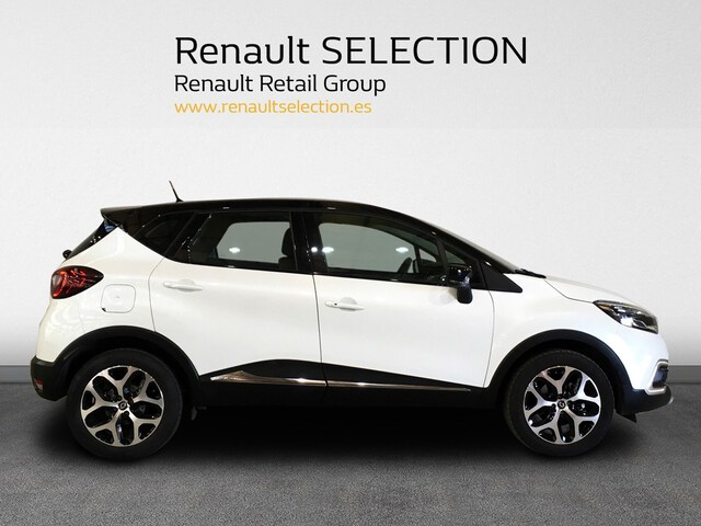 Outside Captur Diesel  Blanco Nacarado/Tech