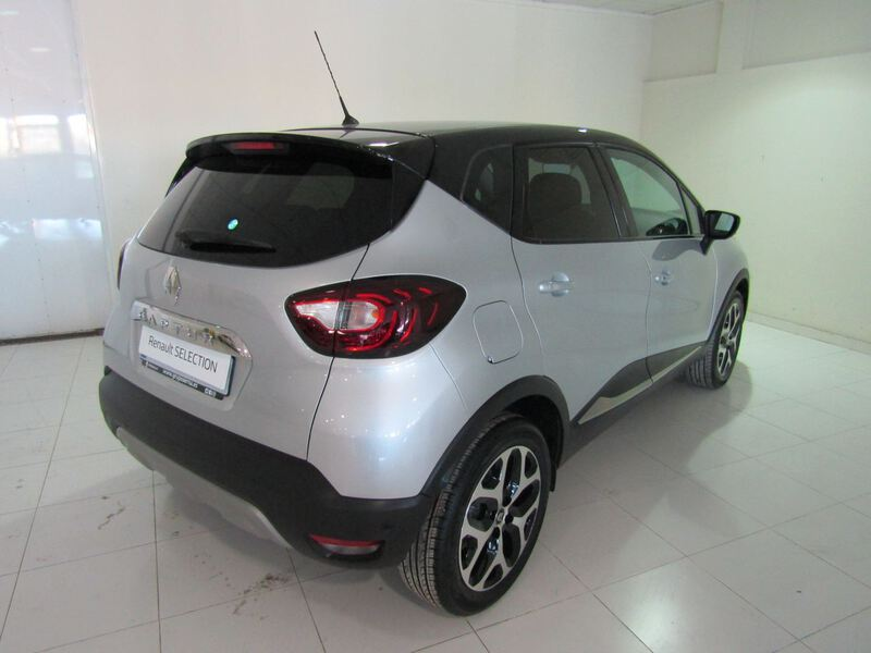 Outside Captur  Gris Platino/Techo N
