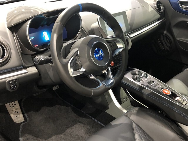 Inside A110  Azul Abysse