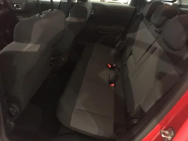 Inside C3 Aircross  Rojo pasion