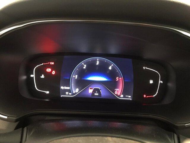Inside Mégane Diesel  AZUL cosmo