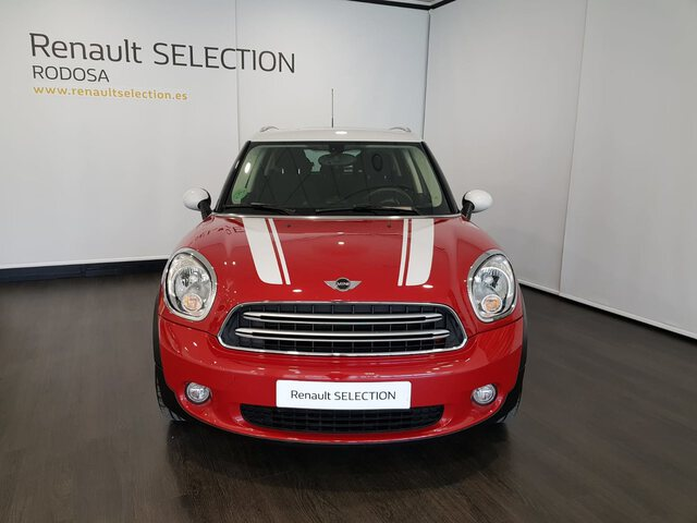 Outside  R60 Countryman Diesel  Chili Red