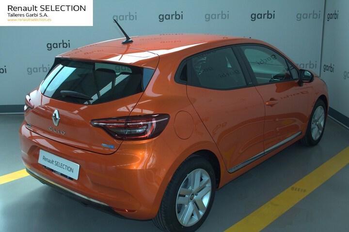 Outside Clio Híbrido  Naranja Valencia