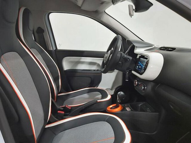 Inside Twingo Electric  Blanco Quartz