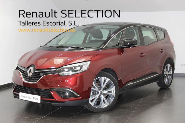 Grand Scénic Diesel  Rojo Carmín/Techo n