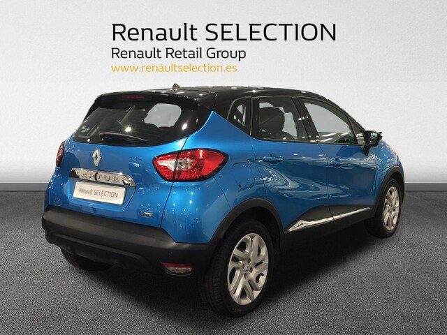 Outside Captur Diesel  Azul Ocean/Techo Neg