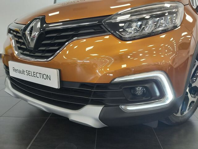 Outside Captur Diesel  NARANJA