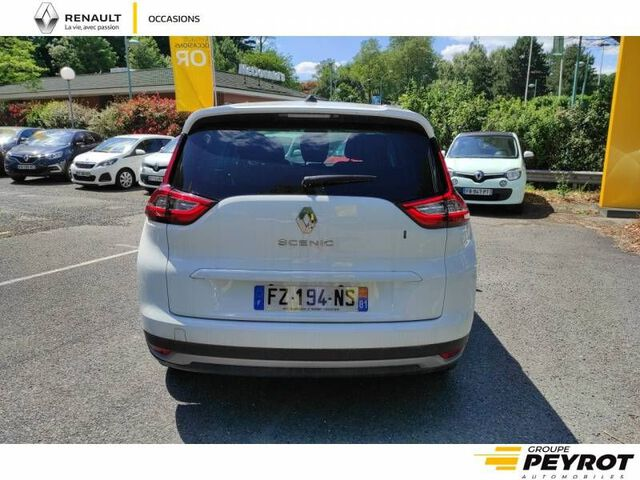GRAND SCENIC Business TEINTE CAISSE BLANC
