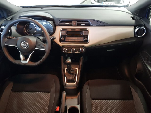 Inside Micra Diesel  Power Blue