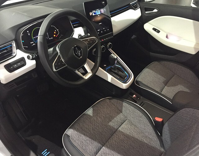 Inside Clio III  BLANCO