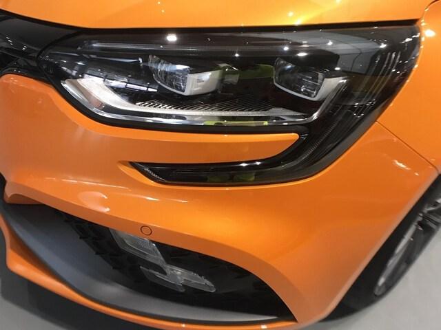 Inside Mégane  Naranja Tonic