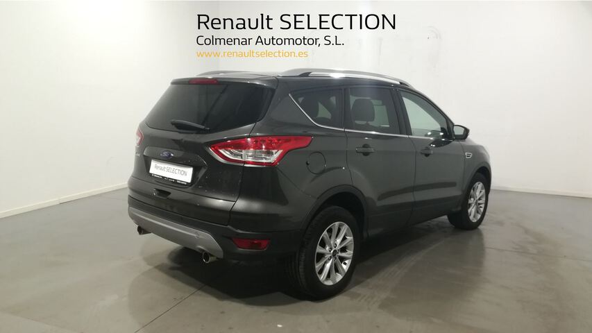 Outside Kuga Diesel  Gris Magnetic