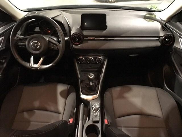 Inside CX-3  Ceramic metallic