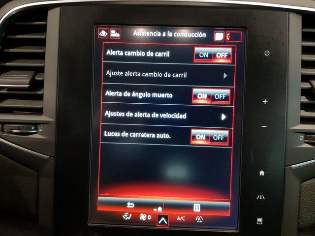 Inside Mégane Sport Tourer Diesel  Blanco Nacarado