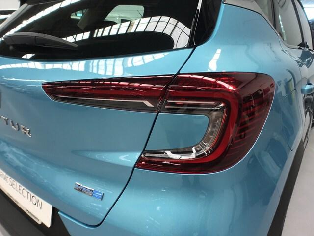 Inside Captur Híbrido Enchufable  Azul Celadon con Tec