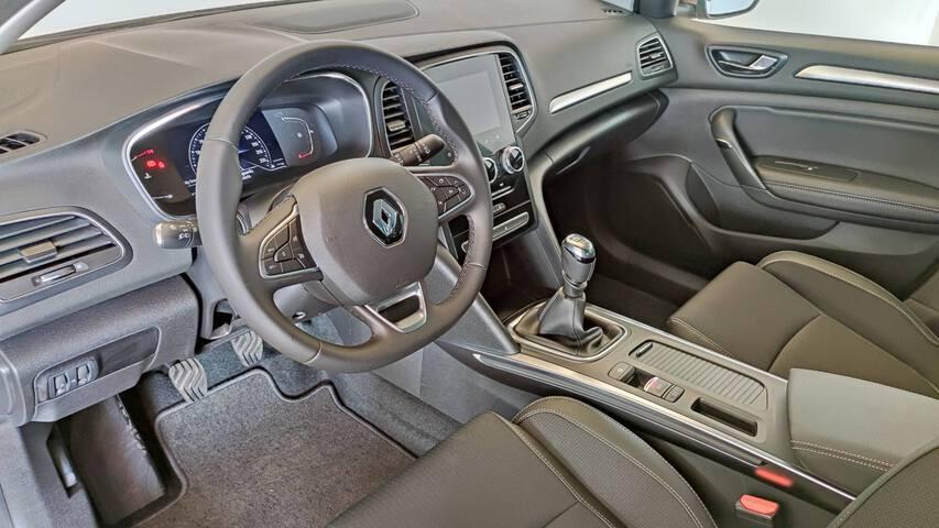 Inside Mégane Diesel  Amarillo