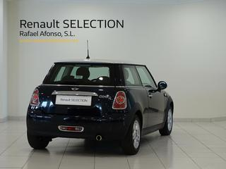 Outside Mini F55 Diesel  Deep blue