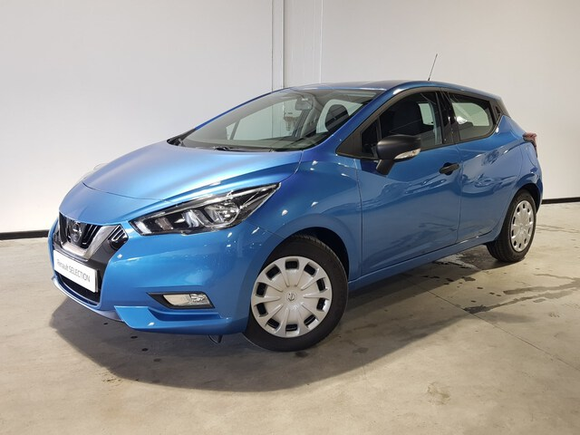 Outside Micra Diesel  Power Blue