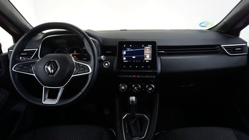 Inside Clio Híbrido  Naranja