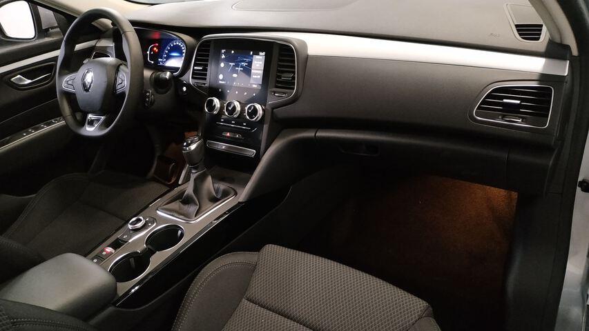 Inside Talisman Diesel  Gris Highland