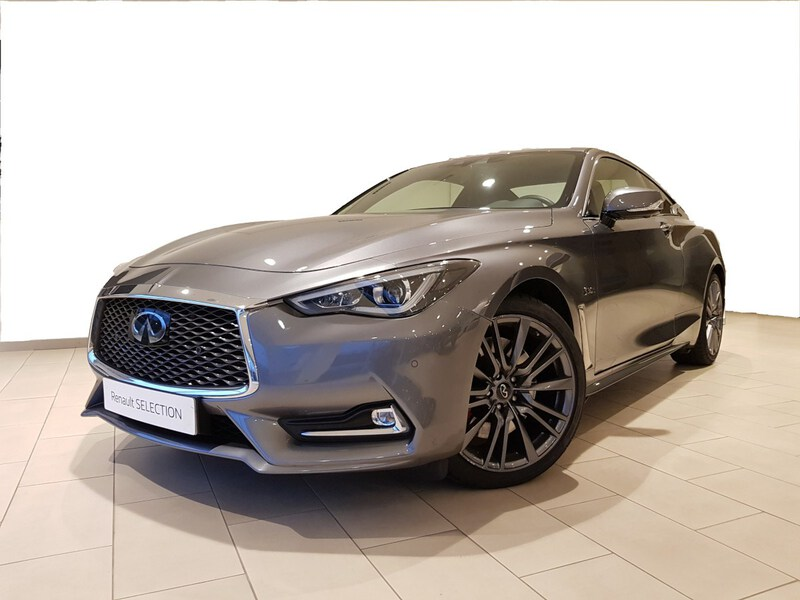 Outside Q60 Coupé  Graphite Shadow